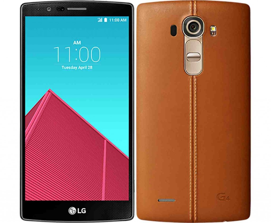 LG G4 - 3 Most Popular Smartphones of 2015