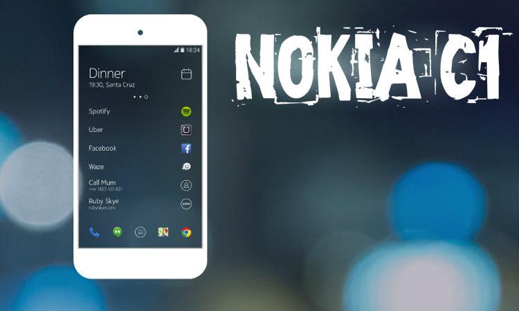 Nokia C1 - Upcoming Smartphones 2016 Rumors