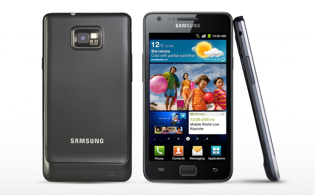 #3 in the Best Selling Samsung Smartphones List - Galaxy S II