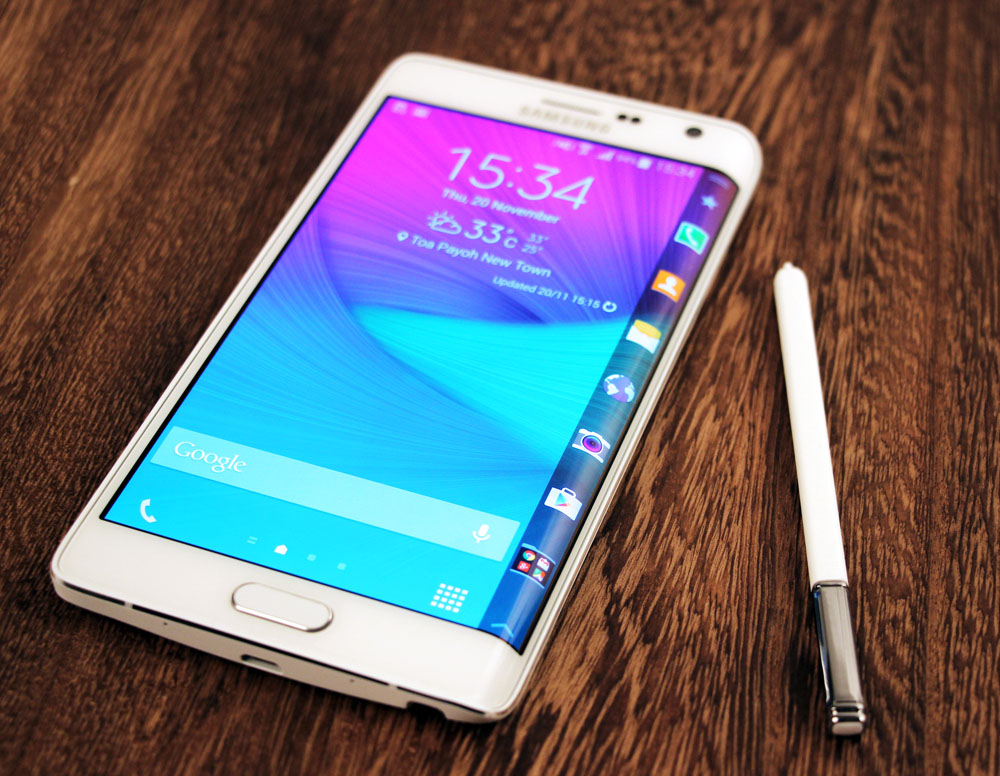 Galaxy Note Edge Specs - Stunning Super AMOLED Display, Unique Side-Screen, Outstanding 16-MP Rear Shooter and More