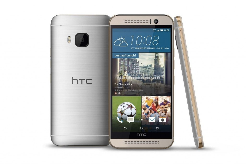 #10 in Our List of Top 10 Smartphones of 2015 - HTC One M9