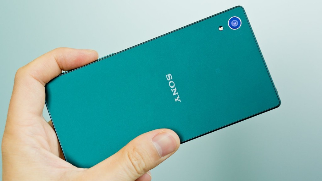 Best Smartphones on the Market - Sony Xperia Z5