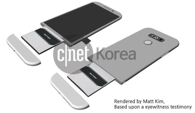 LG Smartphones News - LG G5 Rumored to Feature a Slide Out Battery