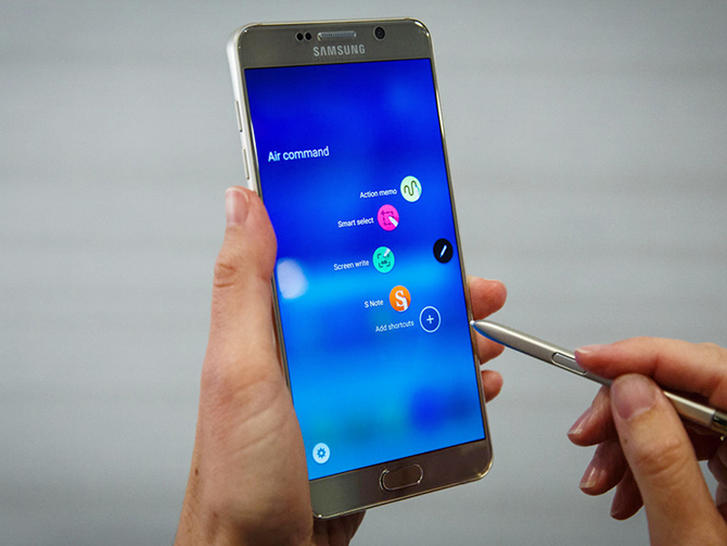 Preview of Samsung Smartphones - Samsung Galaxy Note 6