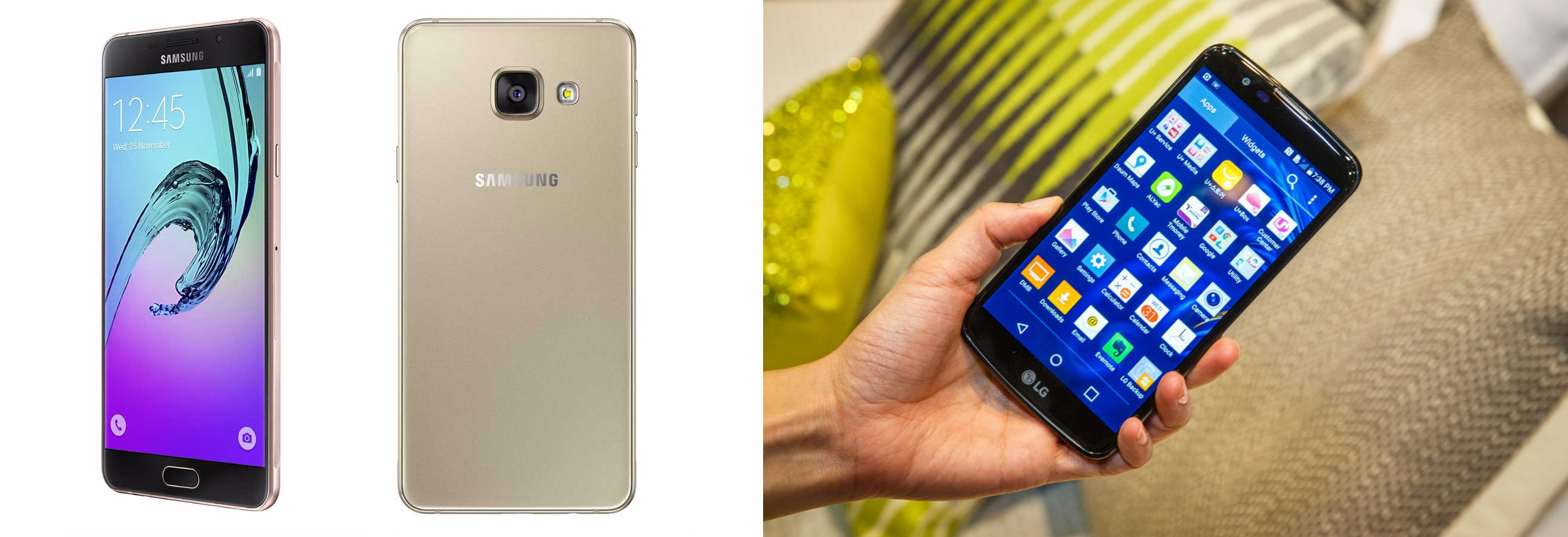 Smartphone Comparison: Samsung's New Mid-Range Galaxy A5 vs LG's New K10 (LTE Variant)