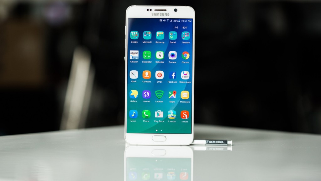 Best Smartphone for Business - Samsung Galaxy Note 5