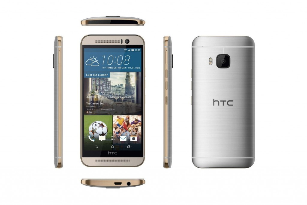 #2 in Our Best HTC Smartphone List - HTC One M9