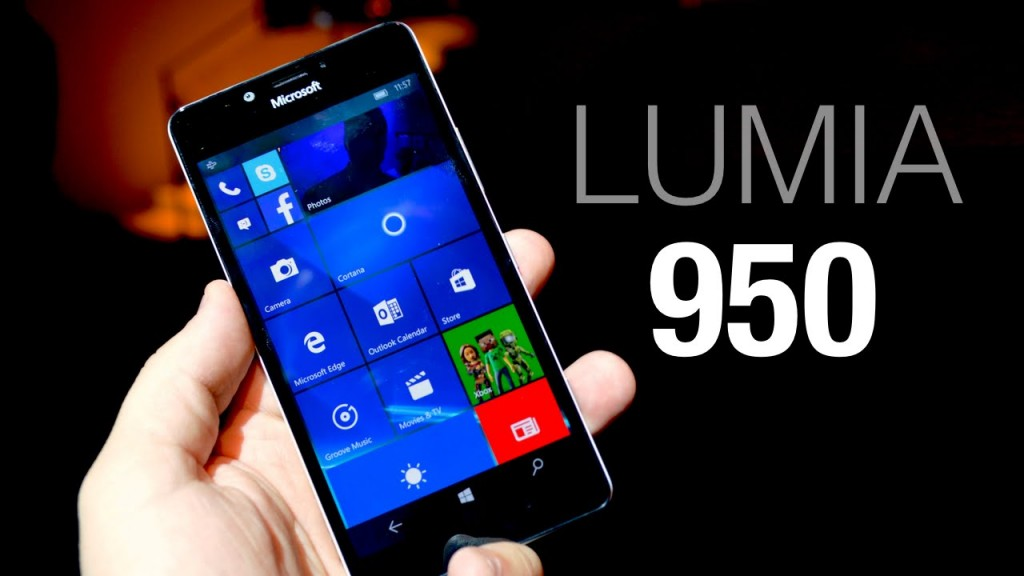 #2 in Our Best Windows Smartphone List - Lumia 950