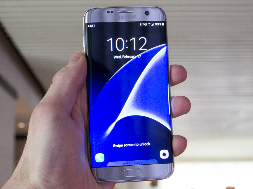 #1 in Our Best Smartphone on the Market List - Samsung Galaxy S7 Edge