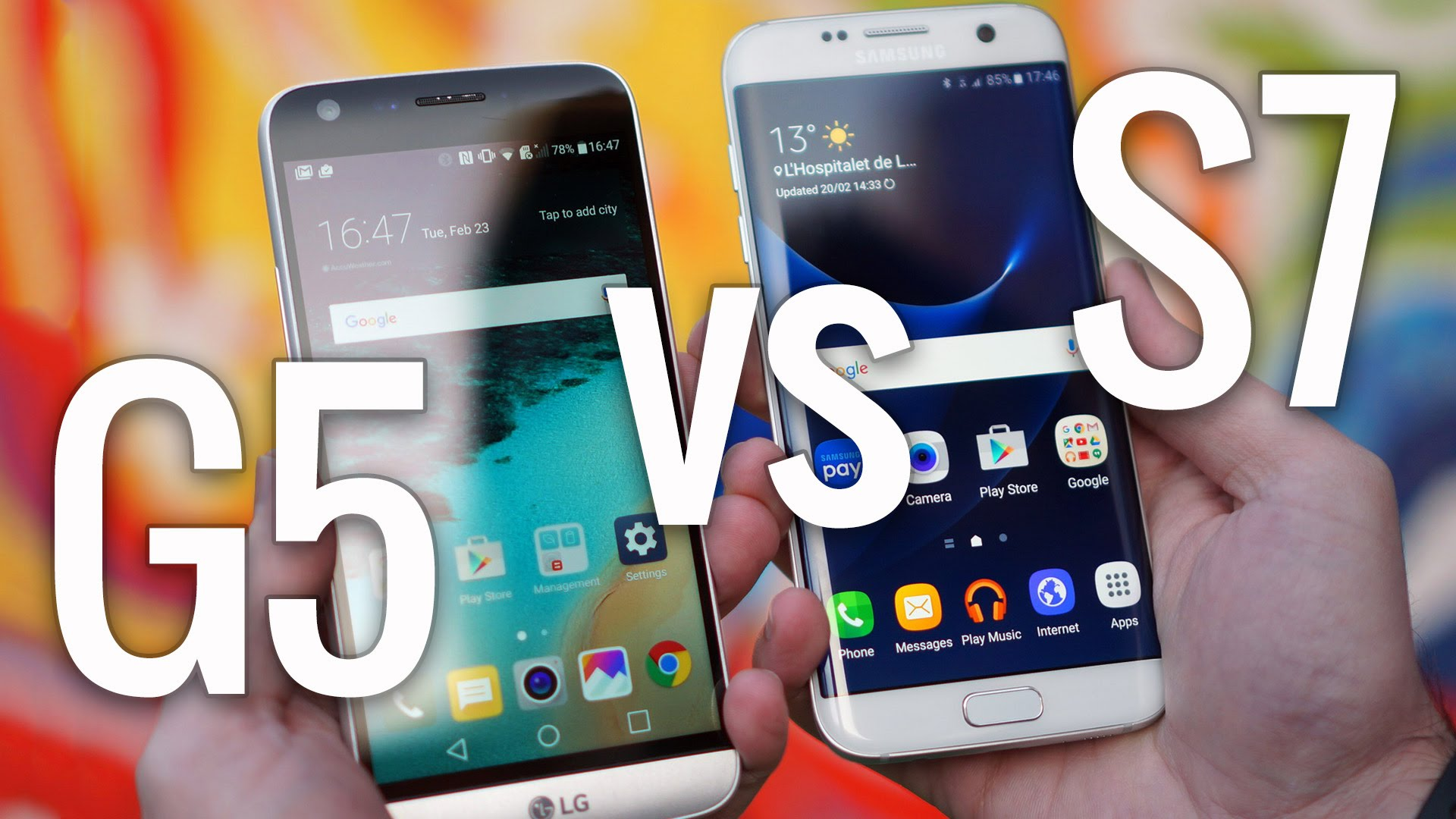 Samsung Galaxy Smartphone vs LG G-Series Smartphone: The Battle between the New Galaxy S7 and the LG G5