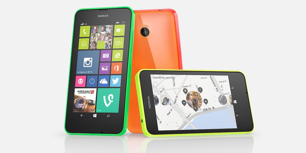 Smartphone Pay as You Go - Nokia Lumia 635 at £70