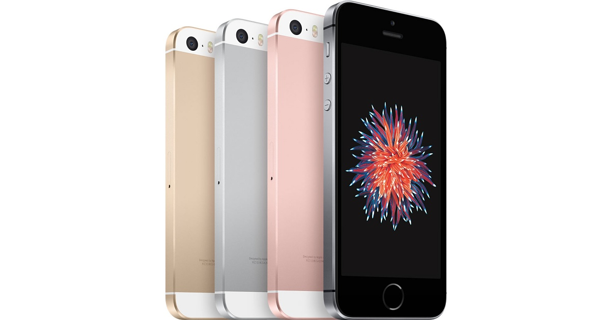 Best Smartphone Contract Deals: 16GB iPhone SE at £24.99/Month, 32GB Galaxy S7 at £37.49/Month