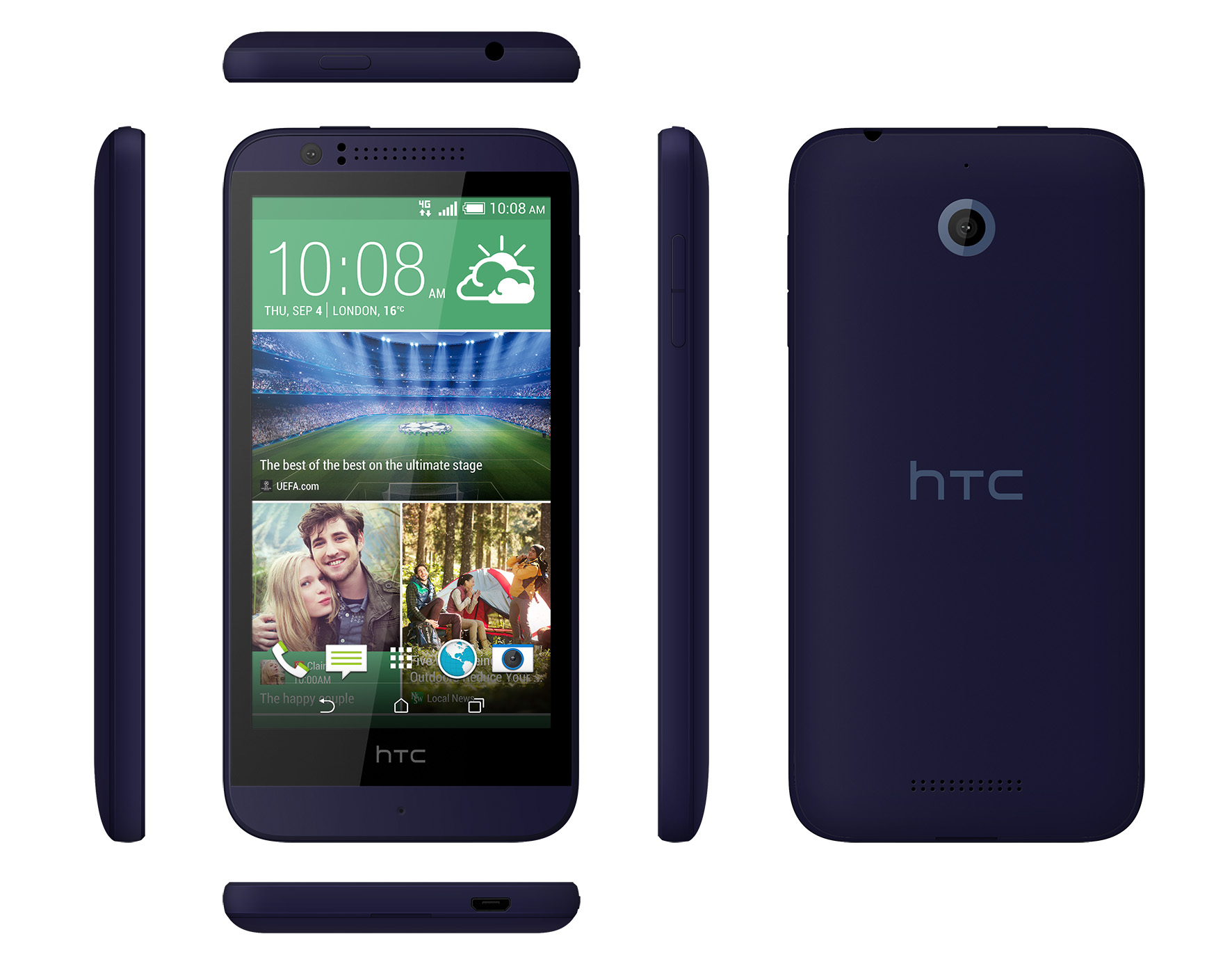 Smartphones Pay as You Go Deals: HTC Desire 510 at £139.97, Microsoft Lumia 640 at £103.99
