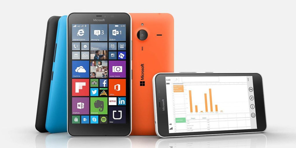 Smartphones Pay as You Go Deals - Microsoft Lumia 640 at £103.99