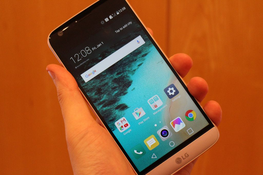 #2 in Our Best Smartphone Overall List - LG G5