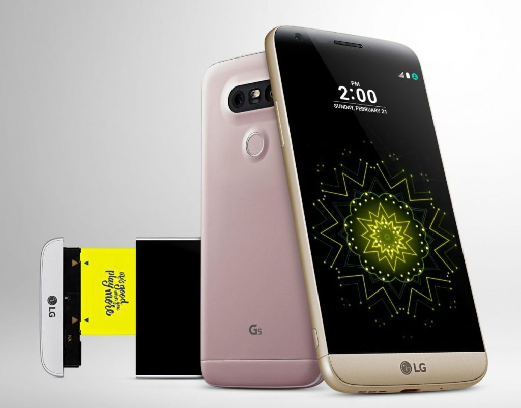 #3 in the Best Smartphones of 2016 List - LG G5